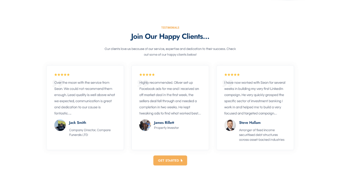 Case Studies Of Past Customers Results